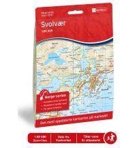Wanderkarten Skandinavien Norge-Serien-Karte 10137, Svolvær 1:50.000 Nordeca AS