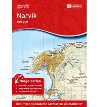 Wanderkarten Skandinavien Norge-serien-Karte 10139, Narvik 1:50.000 Nordeca AS