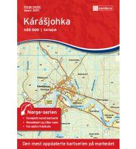 Wanderkarten Skandinavien Norge-serien-Karte 10171, Kárášjohka 1:50.000 Nordeca AS
