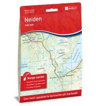 Wanderkarten Skandinavien Norge-serien-Karte 10172, Neiden 1:50.000 Nordeca AS