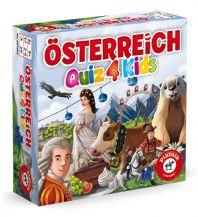 Kinderbücher und Spiele Piatnik 662492 - Österreich Quiz 4 Kids Piatnik & Söhne