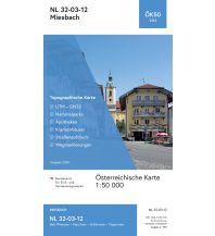 Wanderkarten Bayern BEV-Karte 2212, Miesbach 1:50.000 BEV – Bundesamt für Eich- und Vermessungswesen
