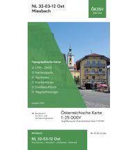 Wanderkarten Bayern BEV-Karte 2212-Ost, Miesbach 1:25.000 BEV – Bundesamt für Eich- und Vermessungswesen
