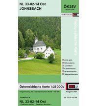 Wanderkarten Steiermark BEV-Karte 4214-Ost, Johnsbach 1:25.000 BEV – Bundesamt für Eich- und Vermessungswesen
