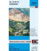 Wanderkarten Steiermark BEV-Karte 4215, Eisenerz 1:50.000 BEV – Bundesamt für Eich- und Vermessungswesen