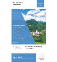 Wanderkarten Steiermark BEV-Karte 4210, Mariazell 1:50.000 BEV – Bundesamt für Eich- und Vermessungswesen