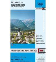 Wanderkarten Salzburg BEV-Karte 3219, Neukirchen am Großvenediger 1:50.000 BEV – Bundesamt für Eich- und Vermessungswesen