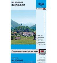 Wanderkarten Österreich BEV-Karte 3208, Ruhpolding 1:50.000 BEV – Bundesamt für Eich- und Vermessungswesen