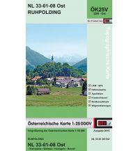 Wanderkarten Tirol BEV-Karte 3208-Ost, Ruhpolding 1:25.000 BEV – Bundesamt für Eich- und Vermessungswesen