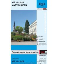 Wanderkarten Oberösterreich BEV-Karte 3328, Mattighofen 1:50.000 BEV – Bundesamt für Eich- und Vermessungswesen
