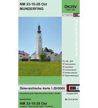 Wanderkarten Oberösterreich BEV-Karte 3328-Ost, Munderfing 1:25.000 BEV – Bundesamt für Eich- und Vermessungswesen
