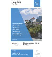 Wanderkarten Tirol BEV-Karte 3213, Kufstein 1:50.000 BEV – Bundesamt für Eich- und Vermessungswesen