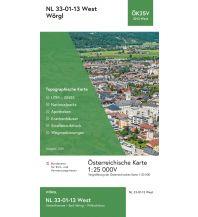 Wanderkarten Tirol BEV-Karte 3213-West, Wörgl 1:25.000 BEV – Bundesamt für Eich- und Vermessungswesen
