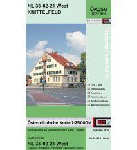 Wanderkarten Steiermark BEV-Karte 4221-West, Knittelfeld 1:25.000 BEV – Bundesamt für Eich- und Vermessungswesen