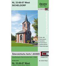 Wanderkarten Steiermark BEV-Karte 5107-West, Sicheldorf 1:25.000 BEV – Bundesamt für Eich- und Vermessungswesen