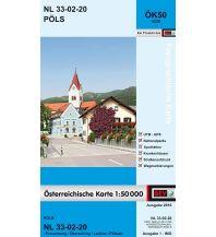 Wanderkarten Steiermark BEV-Karte 4220, Pöls 1:50.000 BEV – Bundesamt für Eich- und Vermessungswesen