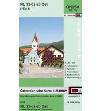 Wanderkarten Steiermark BEV-Karte 4220-Ost, Pöls 1:25.000 BEV – Bundesamt für Eich- und Vermessungswesen