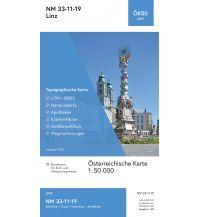 Wanderkarten Oberösterreich BEV-Karte 4319, Linz 1:50.000 BEV – Bundesamt für Eich- und Vermessungswesen