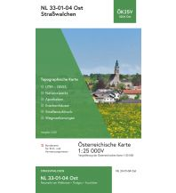 Wanderkarten Salzburg BEV-Karte 3204-Ost, Straßwalchen 1:25.000 BEV – Bundesamt für Eich- und Vermessungswesen