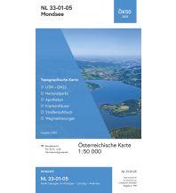 Wanderkarten Salzkammergut BEV-Karte 3205, Mondsee 1:50.000 BEV – Bundesamt für Eich- und Vermessungswesen