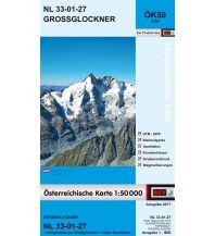 Wanderkarten Osttirol BEV-Karte 3227, Großglockner 1:50.000 BEV – Bundesamt für Eich- und Vermessungswesen