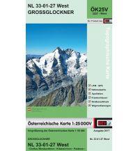 Wanderkarten Tirol BEV-Karte 3227-West, Großglockner 1:25.000 BEV – Bundesamt für Eich- und Vermessungswesen