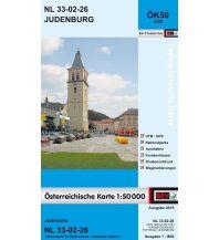 Wanderkarten Steiermark BEV-Karte 4226, Judenburg 1:50.000 BEV – Bundesamt für Eich- und Vermessungswesen
