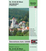 Wanderkarten Steiermark BEV-Karte 4226-West, Neumarkt in Steiermark 1:25.000 BEV – Bundesamt für Eich- und Vermessungswesen