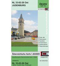 Wanderkarten Steiermark BEV-Karte 4226-Ost, Judenburg 1:25.000 BEV – Bundesamt für Eich- und Vermessungswesen