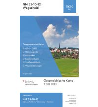 Wanderkarten Oberösterreich BEV-Karte 3312, Wegscheid 1:50.000 BEV – Bundesamt für Eich- und Vermessungswesen