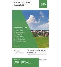 Wanderkarten BEV-Karte 3312-West, Wegscheid 1:25.000 BEV – Bundesamt für Eich- und Vermessungswesen