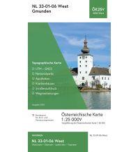 Wanderkarten Salzkammergut BEV-Karte 3206-West, Gmunden 1:25.000 BEV – Bundesamt für Eich- und Vermessungswesen