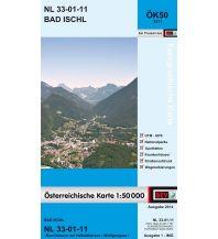 Wanderkarten Salzkammergut BEV-Karte 3211, Bad Ischl 1:50.000 BEV – Bundesamt für Eich- und Vermessungswesen