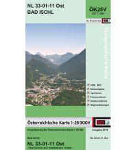 Wanderkarten Salzkammergut BEV-Karte 3211-Ost, Bad Ischl 1:25.000 BEV – Bundesamt für Eich- und Vermessungswesen