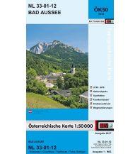 Wanderkarten Steiermark BEV-Karte 3212, Bad Aussee 1:50.000 BEV – Bundesamt für Eich- und Vermessungswesen
