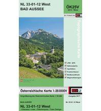 Wanderkarten Steiermark BEV-Karte 3212-West, Bad Aussee 1:25.000 BEV – Bundesamt für Eich- und Vermessungswesen