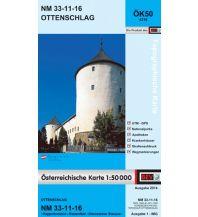 Wanderkarten Niederösterreich BEV-Karte 4316, Ottenschlag 1:50.000 BEV – Bundesamt für Eich- und Vermessungswesen