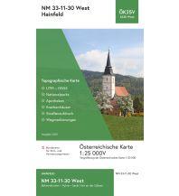 Wanderkarten Niederösterreich BEV-Karte 4330-West, Hainfeld 1:25.000 BEV – Bundesamt für Eich- und Vermessungswesen