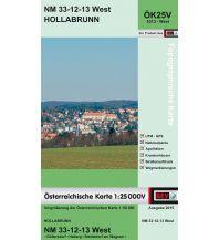 Wanderkarten Niederösterreich BEV-Karte 5313-West, Hollabrunn 1:25.000 BEV – Bundesamt für Eich- und Vermessungswesen