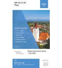 Wanderkarten Oberösterreich BEV-Karte 4320, Perg 1:50.000 BEV – Bundesamt für Eich- und Vermessungswesen
