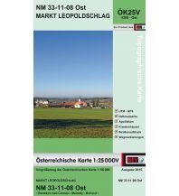 Wanderkarten Oberösterreich BEV-Karte 4308-Ost, Markt Leopoldschlag 1:25.000 BEV – Bundesamt für Eich- und Vermessungswesen