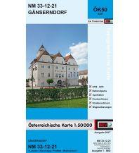 Wanderkarten Niederösterreich BEV-Karte 5321, Gänserndorf 1:50.000 BEV – Bundesamt für Eich- und Vermessungswesen