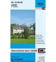 Wanderkarten Italien BEV-Karte 2106, Sand in Taufers 1:50.000 BEV – Bundesamt für Eich- und Vermessungswesen