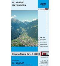 Wanderkarten Tirol BEV-Karte 2230, Mayrhofen 1:50.000 BEV – Bundesamt für Eich- und Vermessungswesen