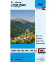 Wanderkarten Tirol BEV-Karte 3101, Sankt Jakob in Defereggen 1:50.000 BEV – Bundesamt für Eich- und Vermessungswesen