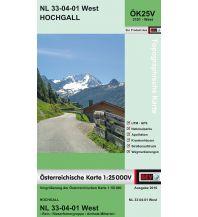 Wanderkarten Tirol BEV-Karte 3101-West, Hochgall 1:25.000 BEV – Bundesamt für Eich- und Vermessungswesen