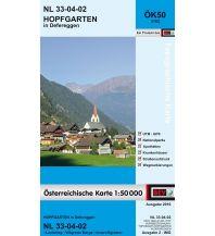 Wanderkarten Osttirol BEV-Karte 3102, Hopfgarten in Defereggen 1:50.000 BEV – Bundesamt für Eich- und Vermessungswesen