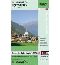 Wanderkarten Tirol BEV-Karte 3102-Ost, Hopfgarten in Defereggen 1:25.000 BEV – Bundesamt für Eich- und Vermessungswesen