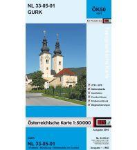 Wanderkarten Kärnten BEV-Karte 4101, Gurk 1:50.000 BEV – Bundesamt für Eich- und Vermessungswesen