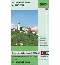 Wanderkarten Kärnten BEV-Karte 4102-West, Althofen 1:25.000 BEV – Bundesamt für Eich- und Vermessungswesen